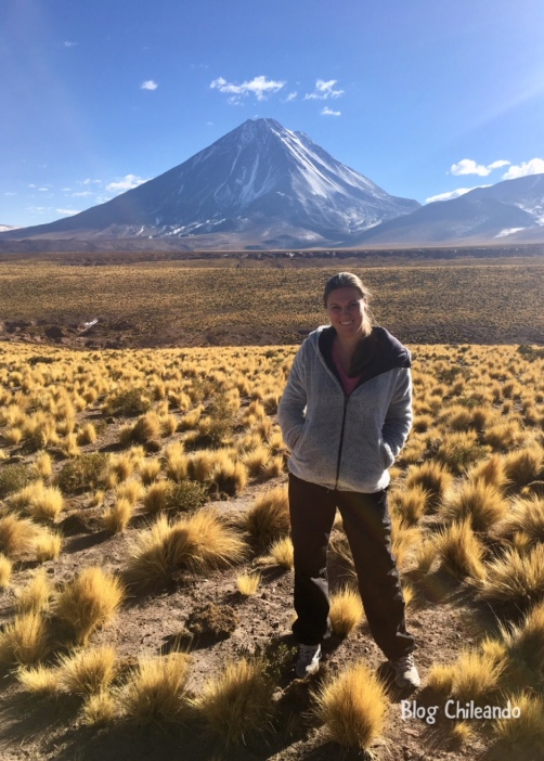 Parada à base do vulcão Licancabur