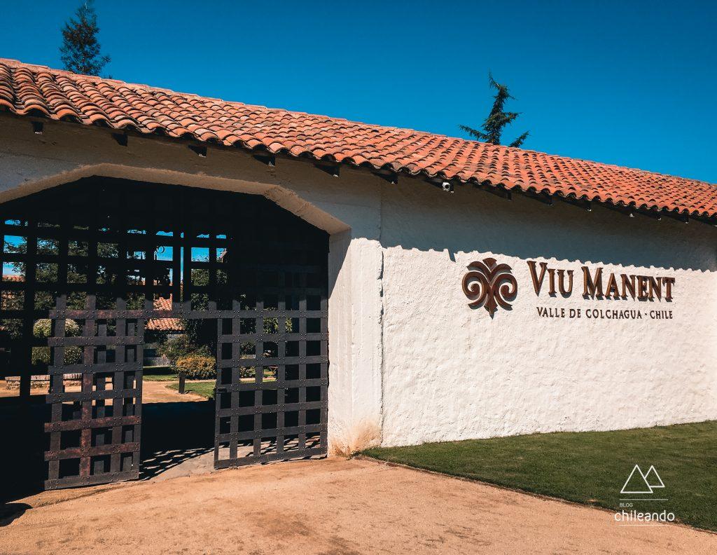 Fachada da vinícola Viu Manent