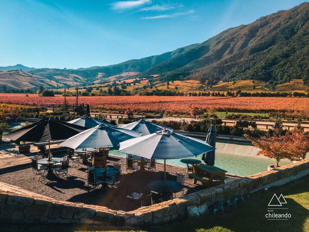 Santa Cruz, um destino romântico no Chile