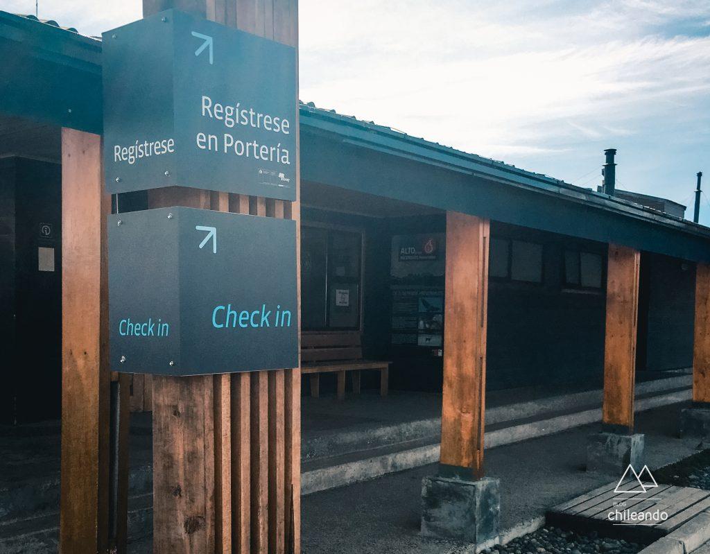 Portaria Río Serrano: sede administrativa do Parque Torres del Paine
