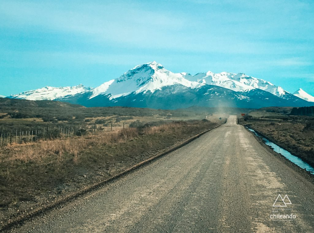 No trecho entre Puerto Natales e o parque Torres del Paine