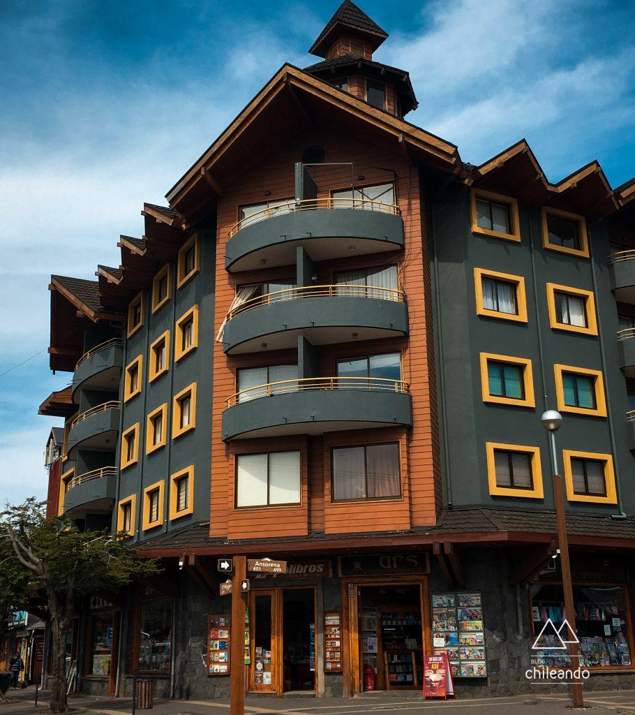 Arquitetura típica de Pucón