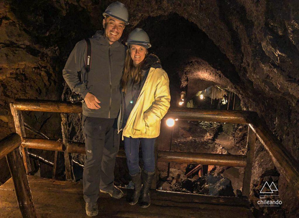 Tour à caverna vulcânica