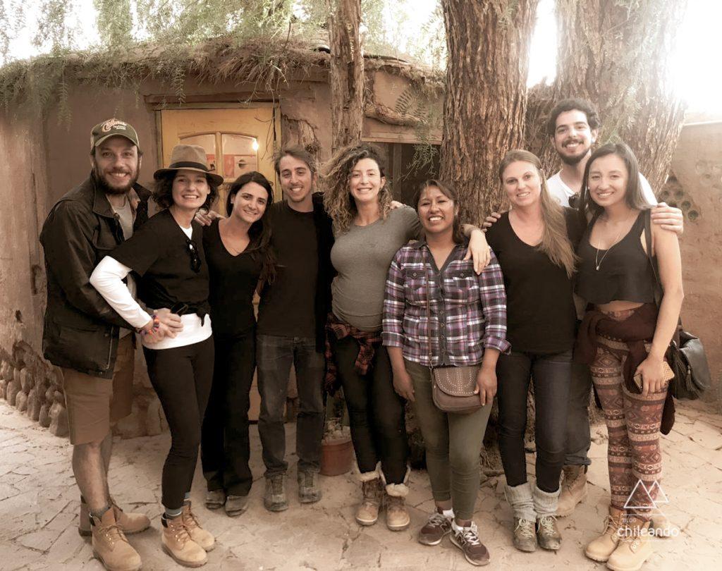 Fim da nossa expedição ao Uyuni, na agência Flavia Bia