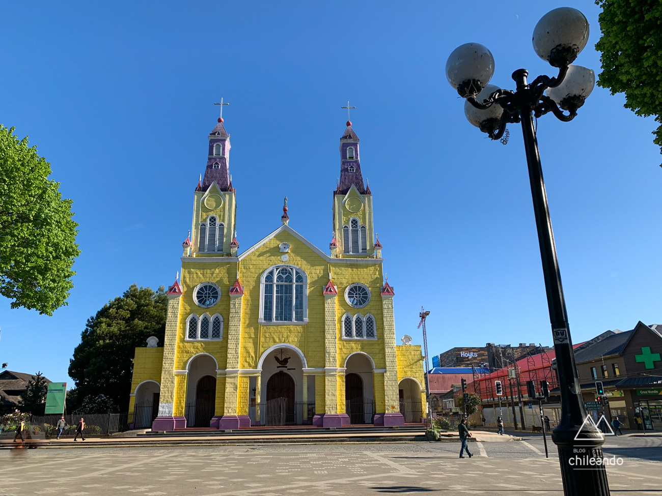 Igreja de Castro foi construída em 1912