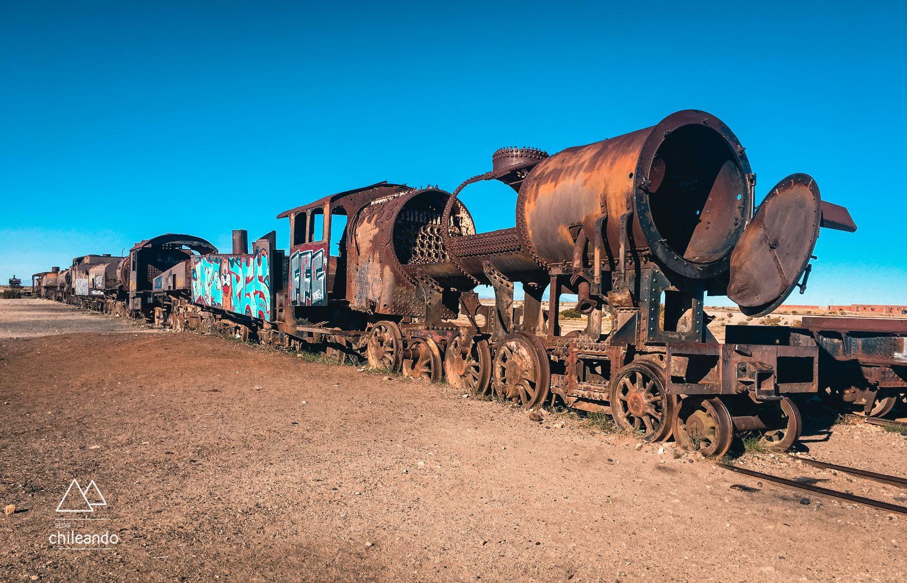 Primeiros trens da Bolívia, datados de 1890