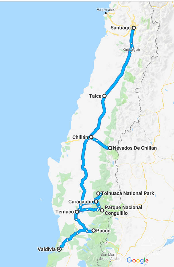 Road Trip ao sul do Chile