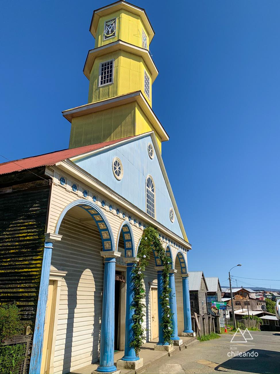 Igreja Nossa Senhora do Rosário, em Chonchi