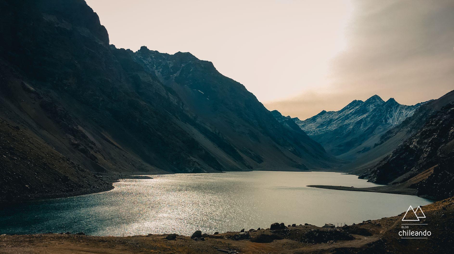 Laguna del Inca em Portillo