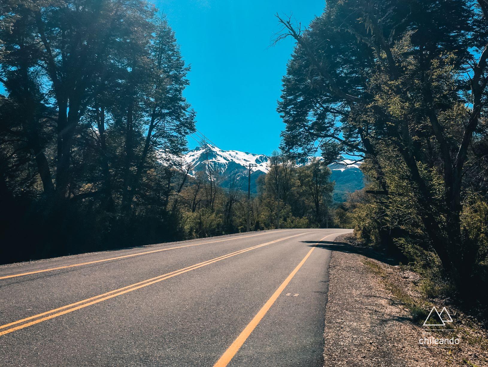 A Ruta 55 leva a Nevados de Chillán