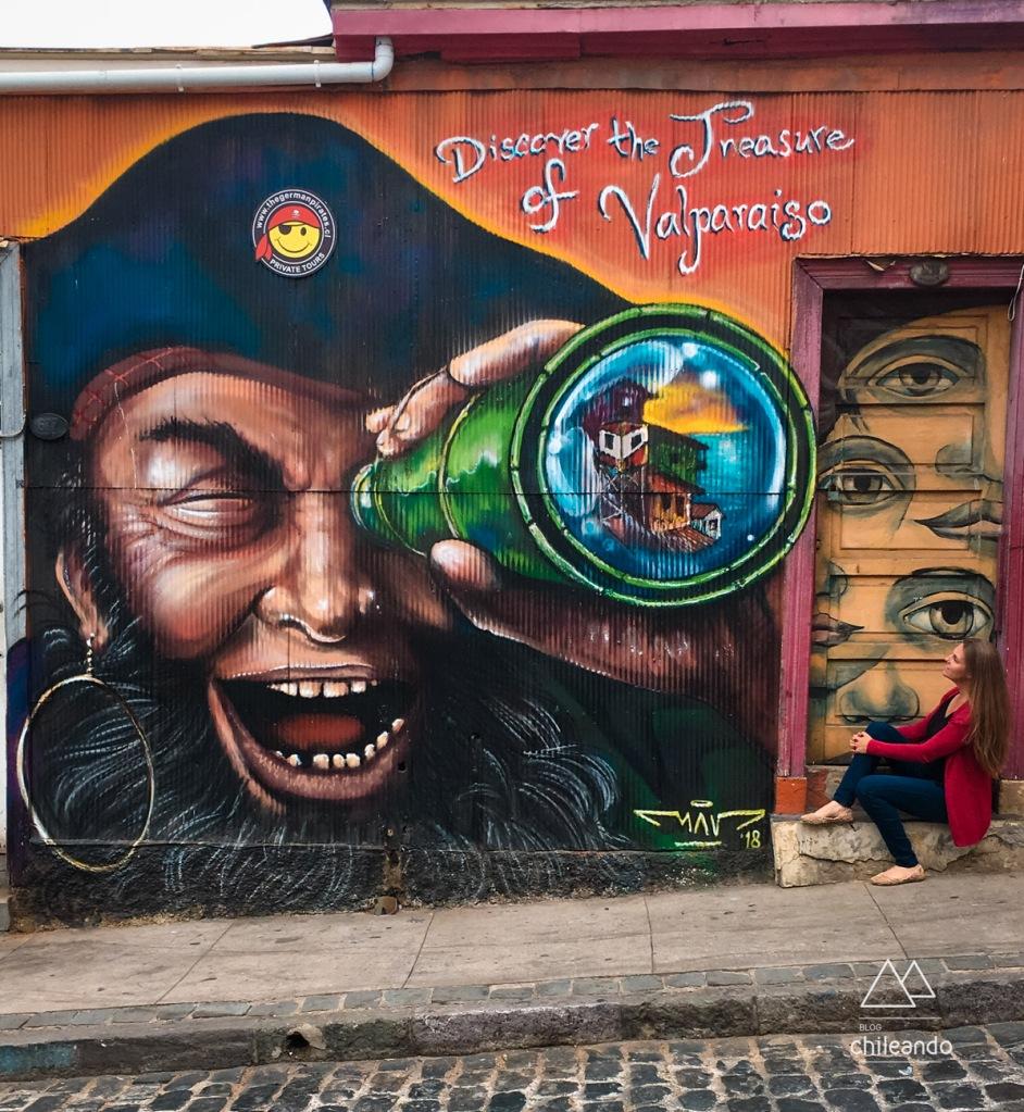 Valparaíso tem uma infinidade de murais