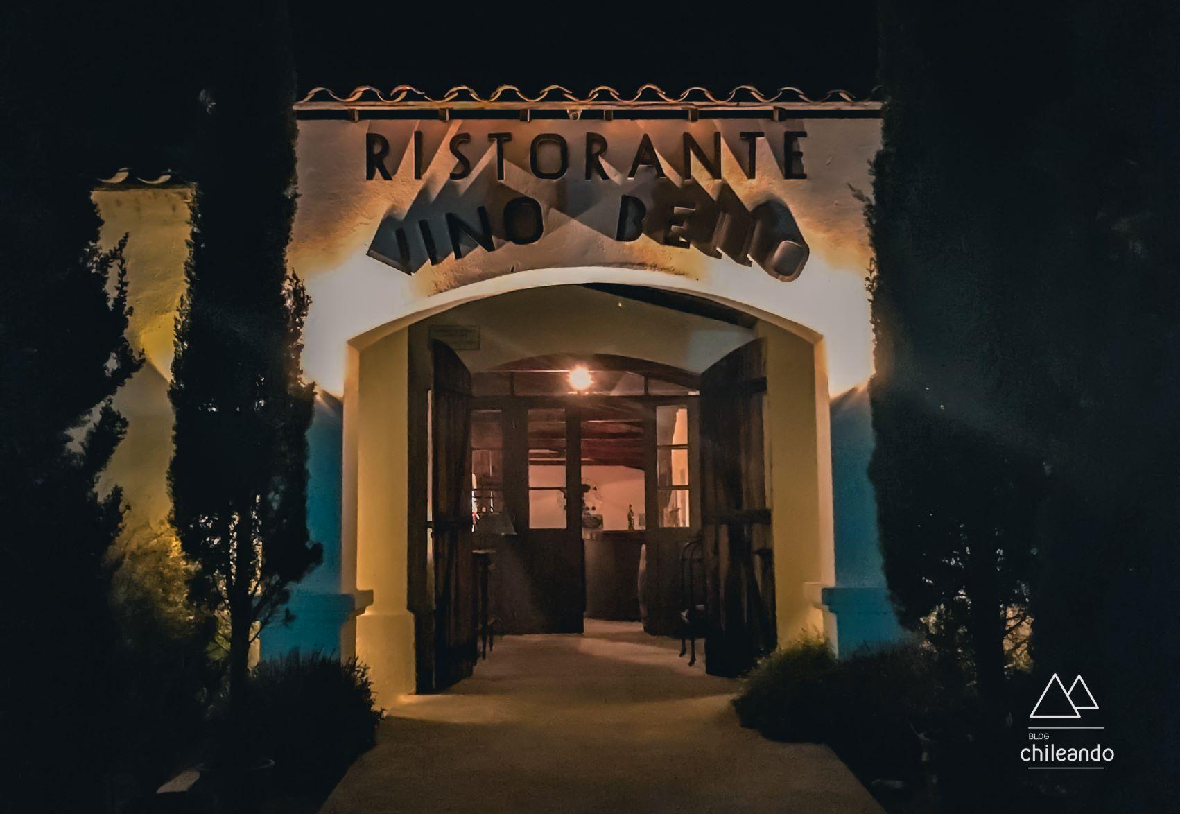 Restaurante Vino Bello, em Colchagua