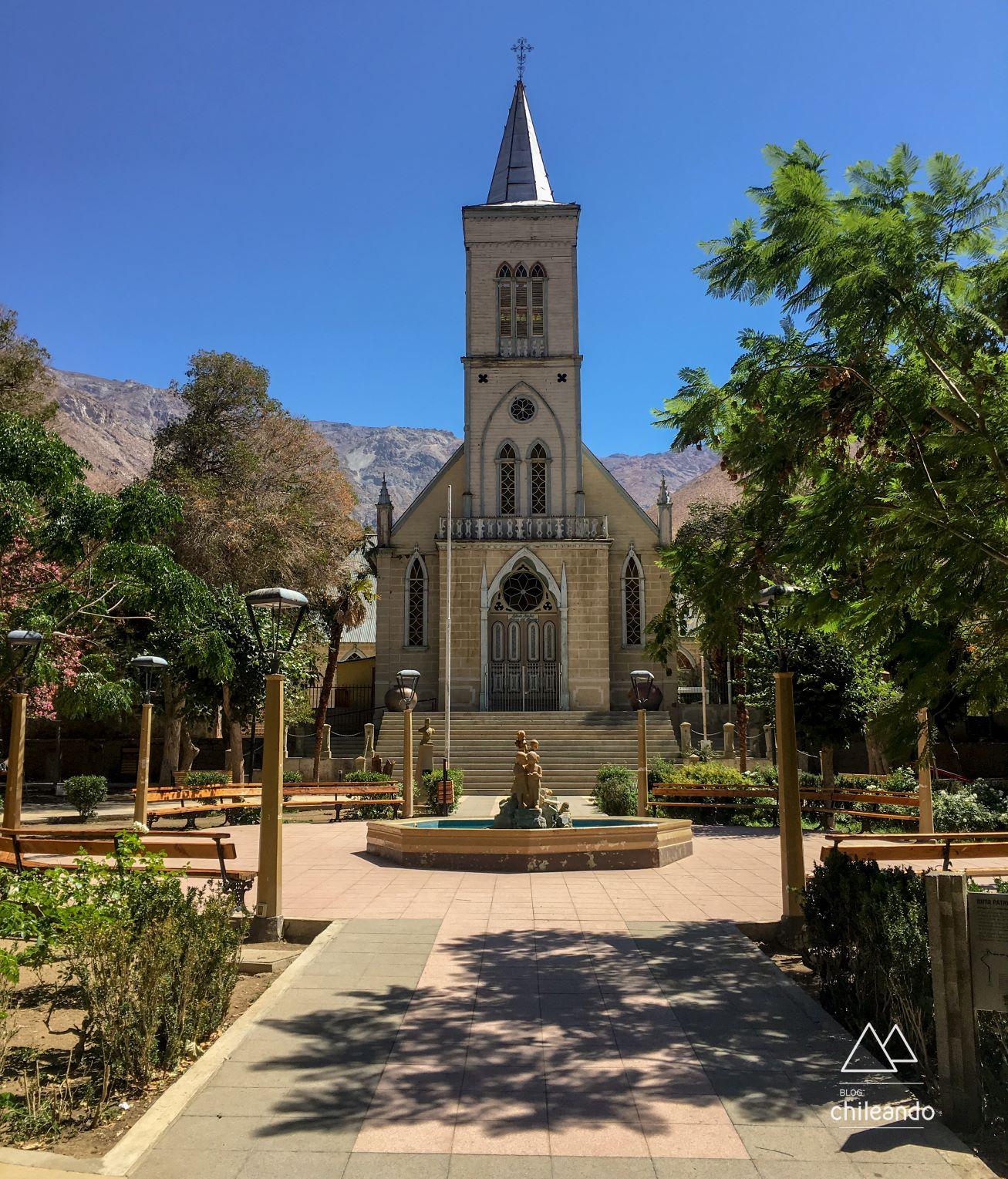 Praça de Pisco Elqui