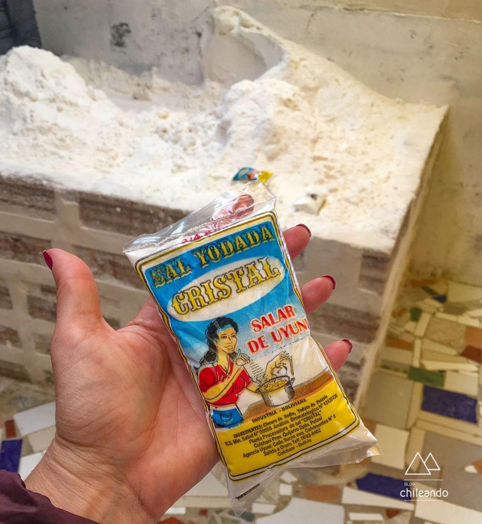 Sal de cozinha processado artesanalmente