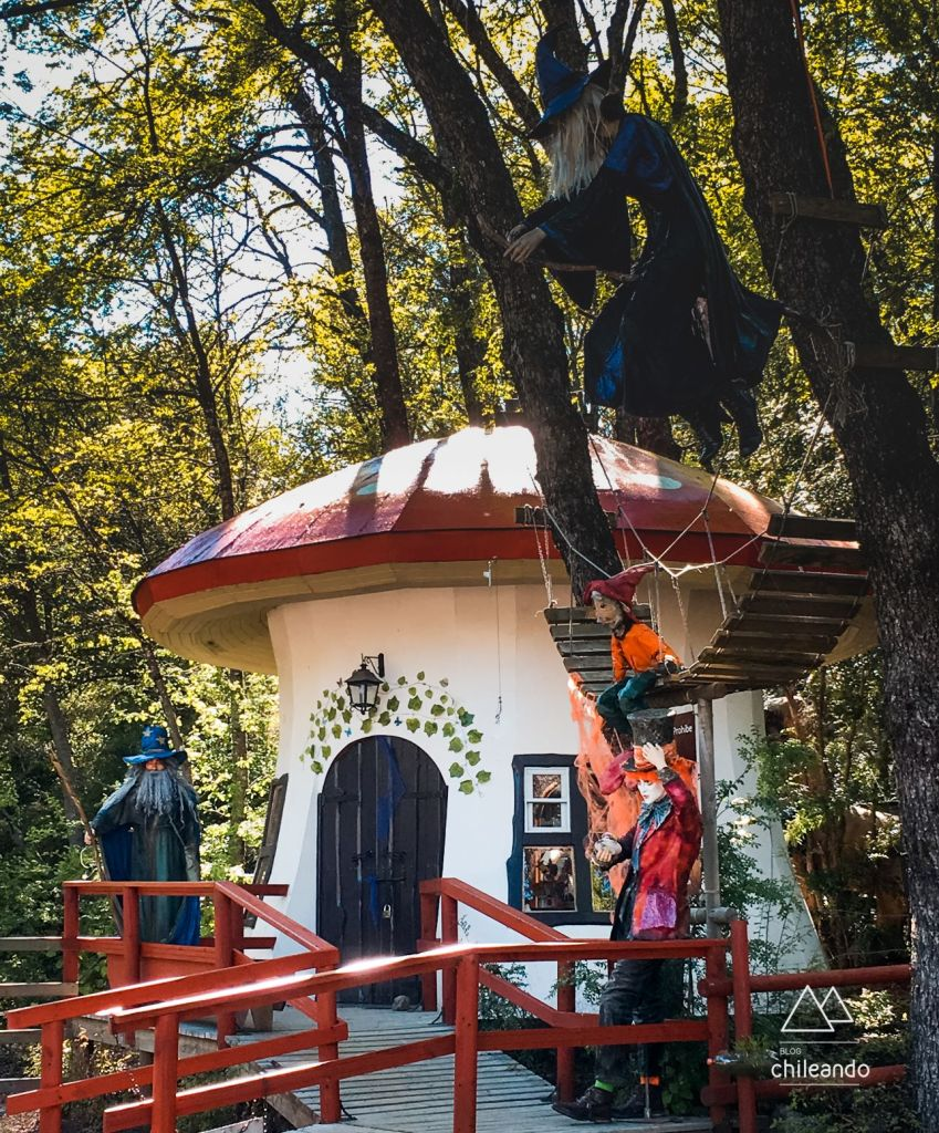 Bosque Encantado, em Chillan