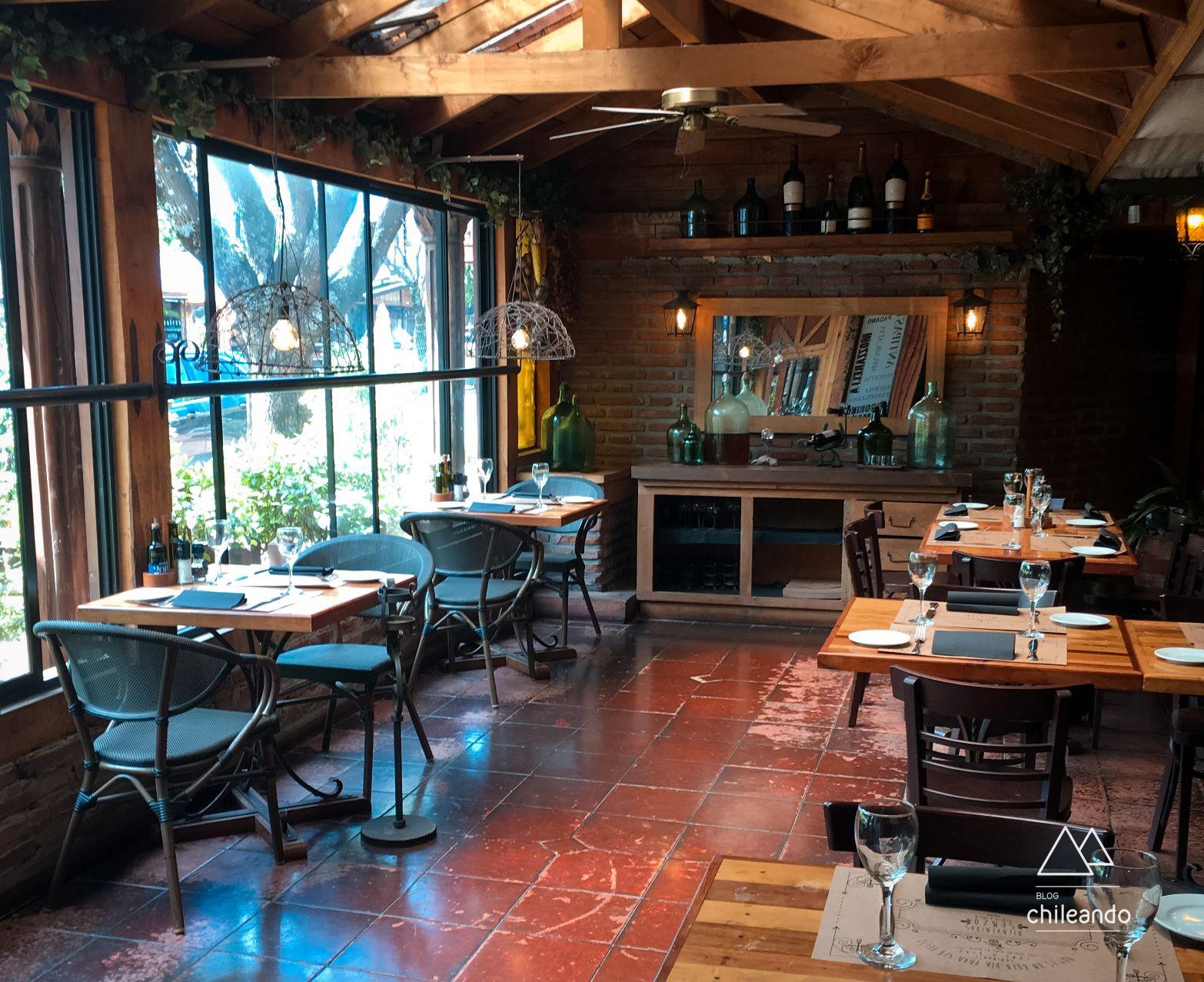 Restaurante Senzo, em Pucón