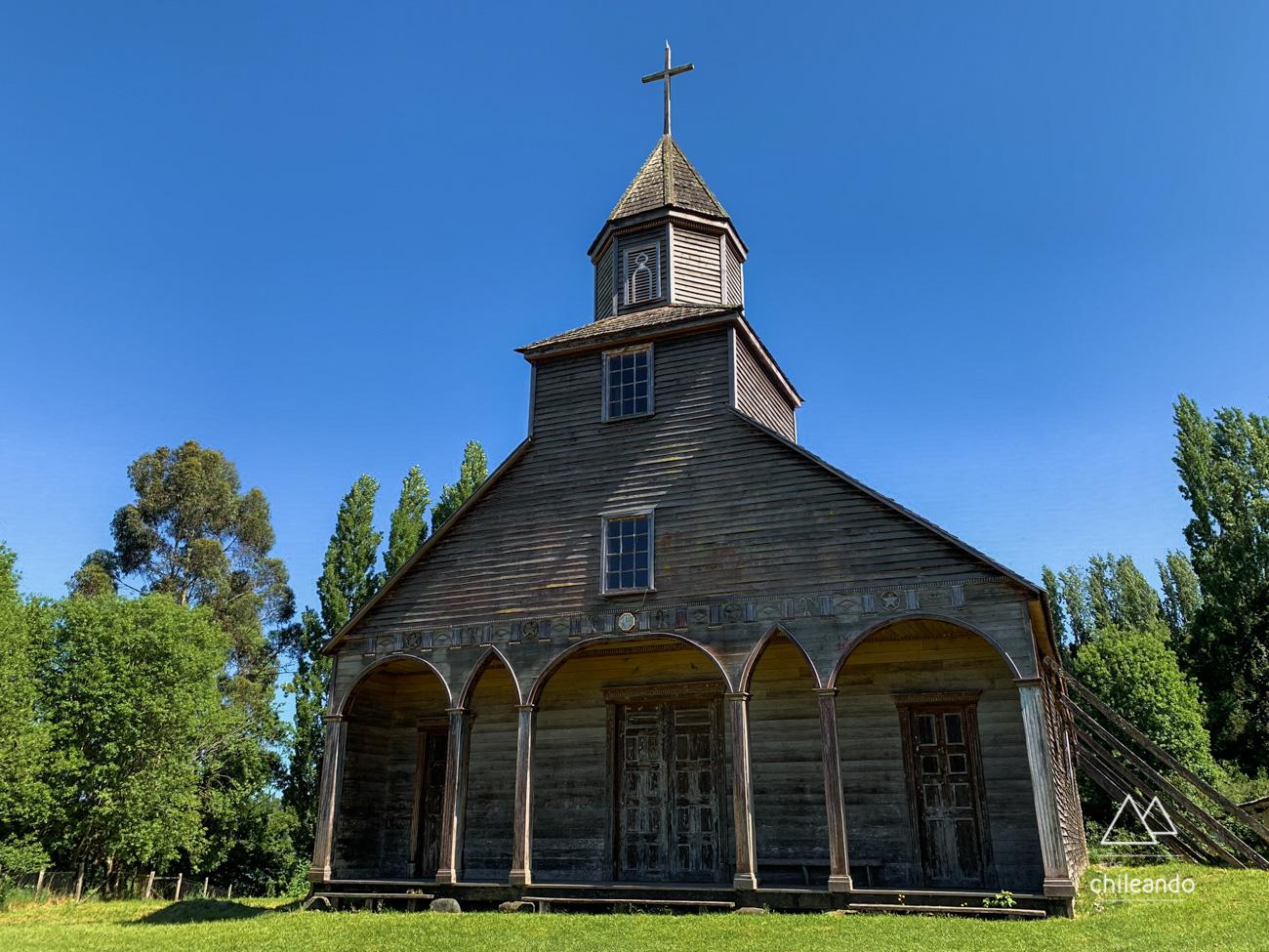 Igreja de Ichuac (1880), em Lemuy