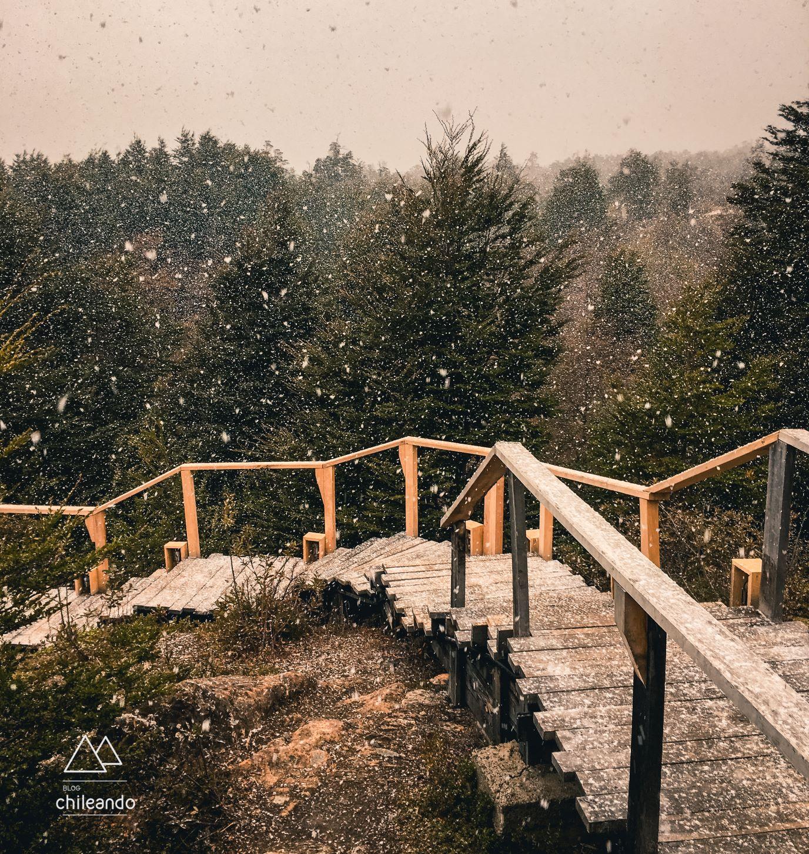 Neve em Torres del Paine no fim de setembro