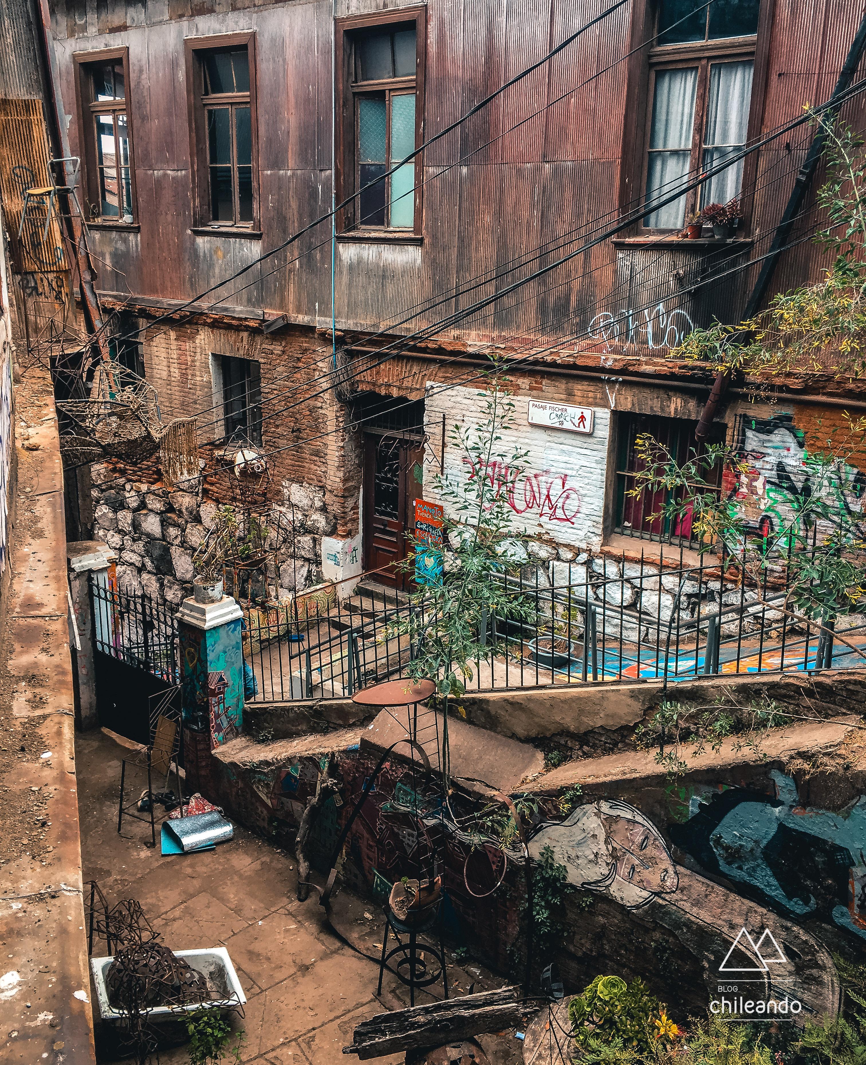 Arte ou caos em Valparaíso?