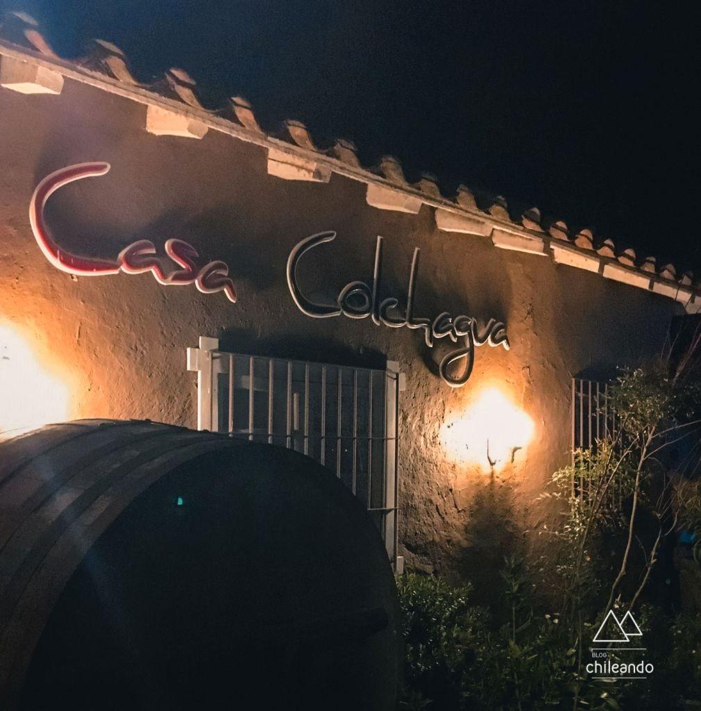 Restaurante Casa Colchagua em Santa Cruz