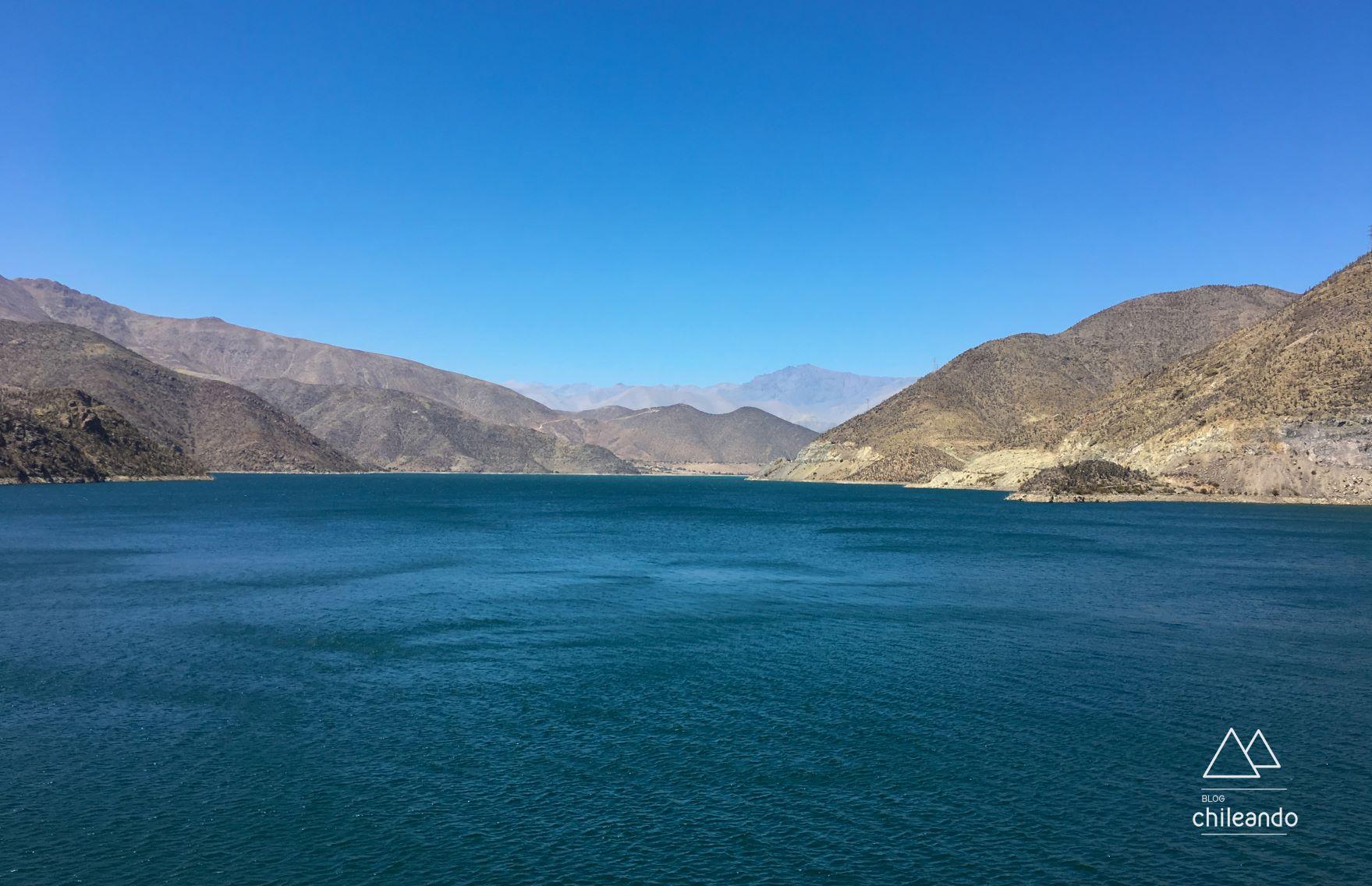 A represa Puclaro é aberta à visitação de terça a domingo