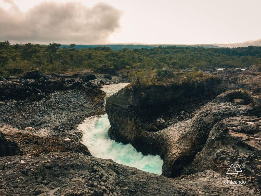 Curso do rio foi desenhado há milhares de anos