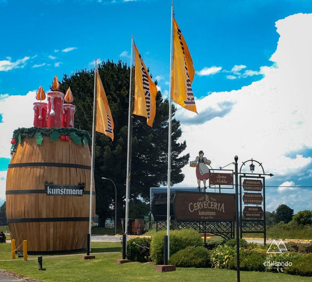Cervejaria Kunstmann em Valdivia