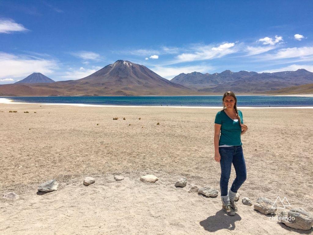 Laguna Miscanti, no Atacama