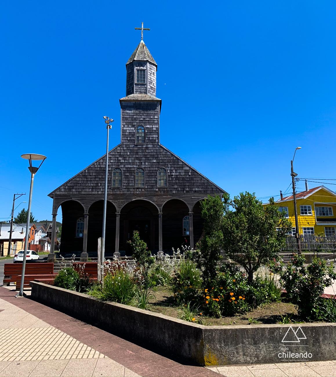 A igreja de Achao é a mais antiga das 16 que fazem parte da rota