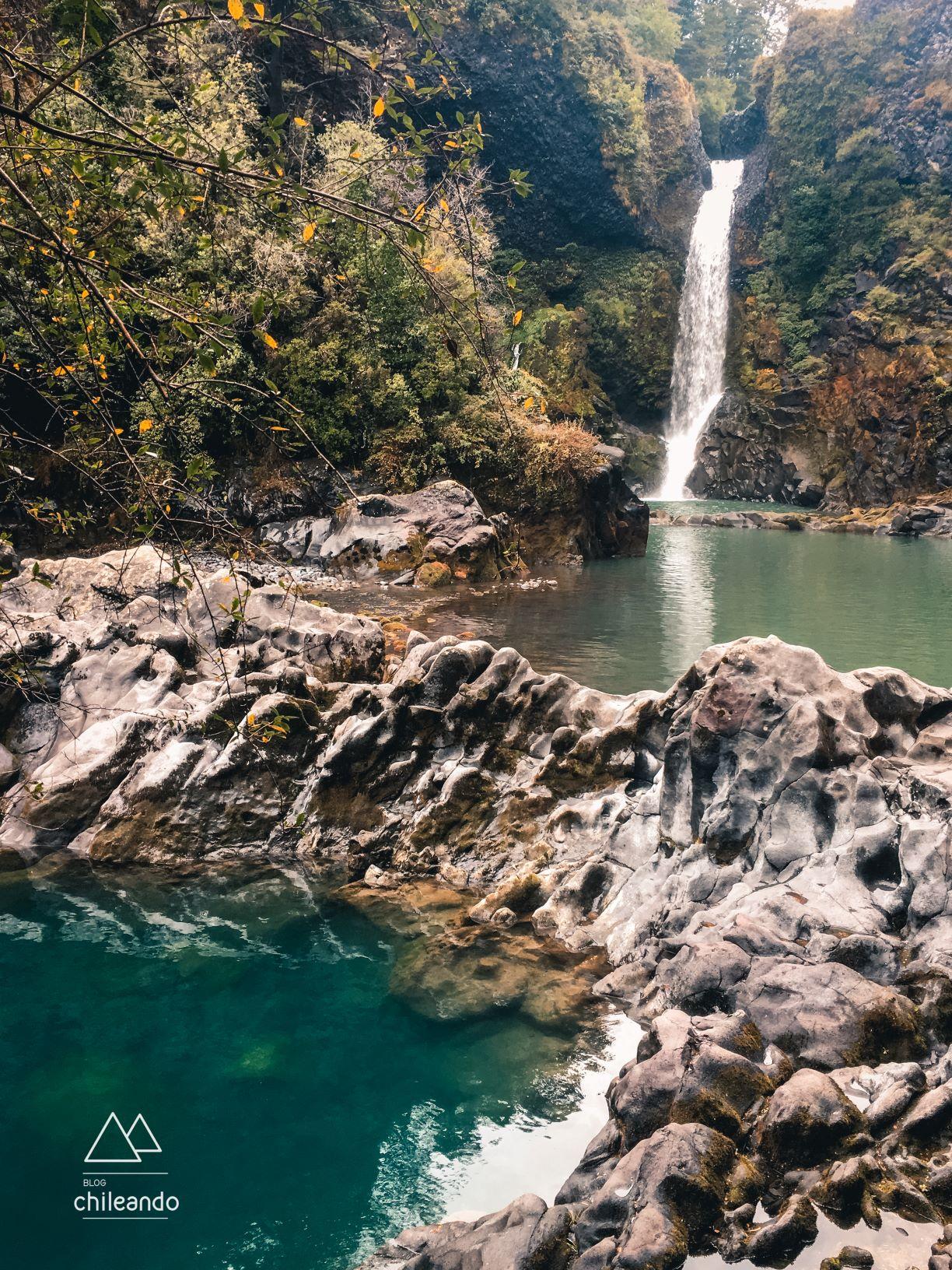 Cachoeira Huilo Huilo