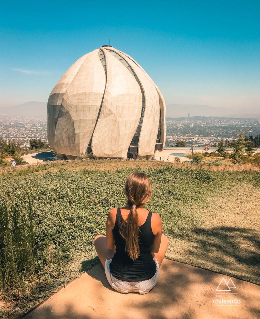 O templo Bahá'í da América do Sul