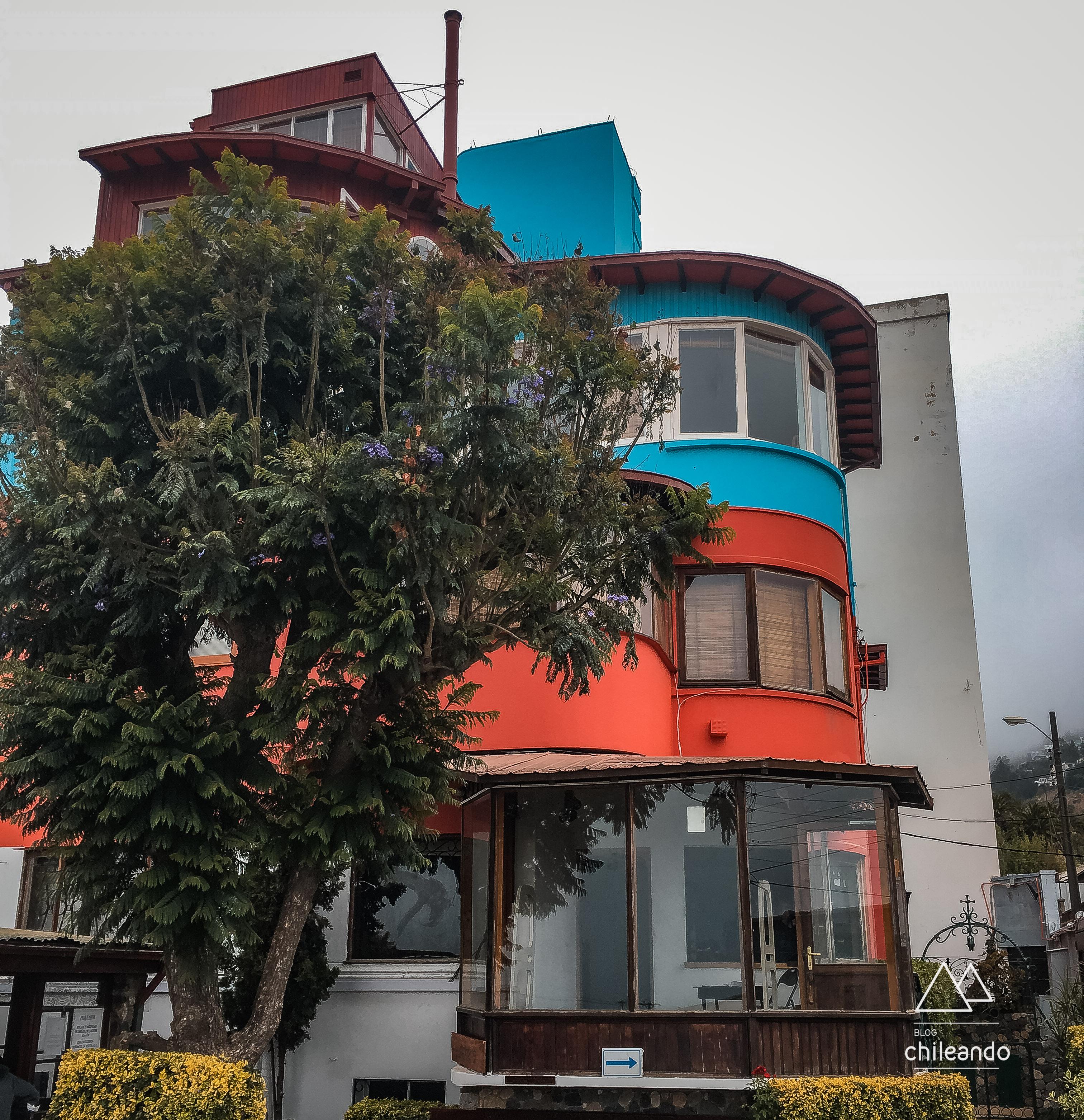 Casa museu de Neruda, La Sebastiana