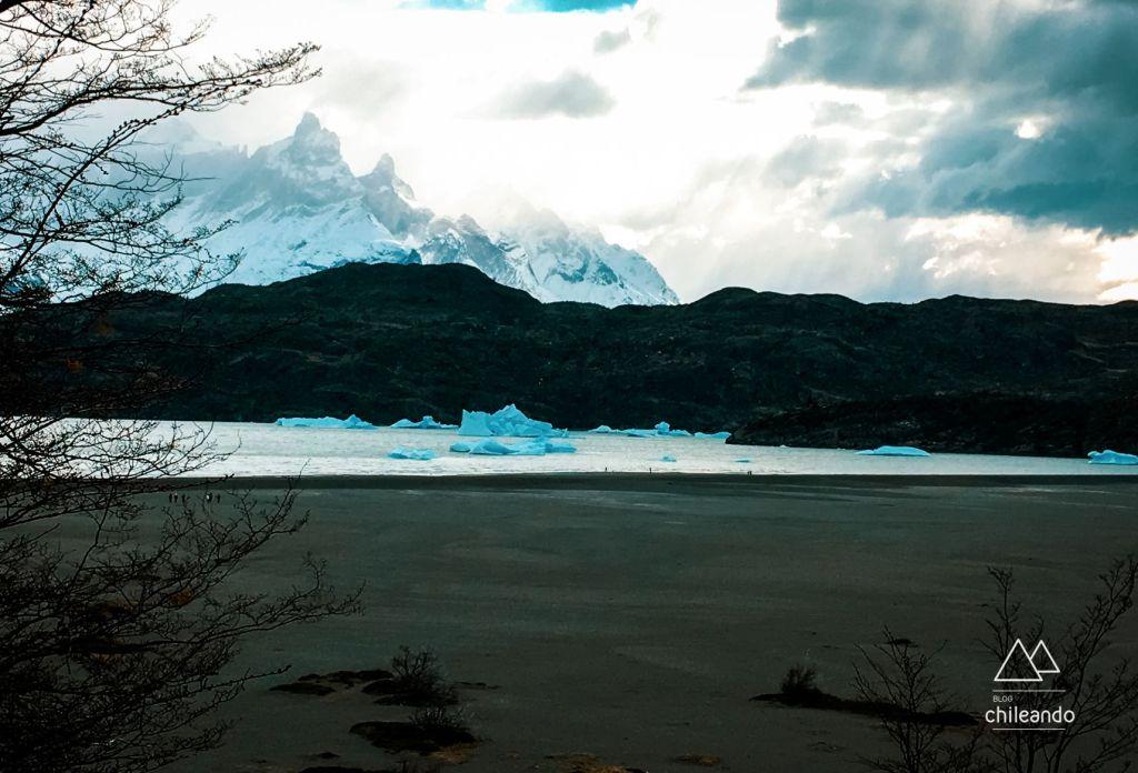 Vista do hotel Lago Grey